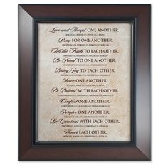 One Another Framed Wall Art