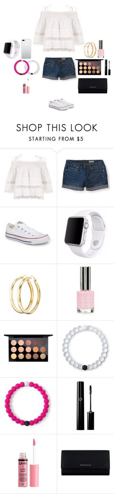 """""""I'm bored"""" by mermaid-princess-loves-music ❤ liked on Polyvore featuring Kirei, Aéropostale, Converse, Apple, Charlotte Russe, Topshop, MAC Cosmetics, Lokai and Givenchy"""