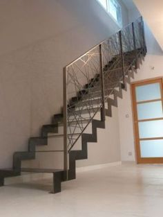 linear stair spindles modern google search nancy pinterest stair spindles google search. Black Bedroom Furniture Sets. Home Design Ideas