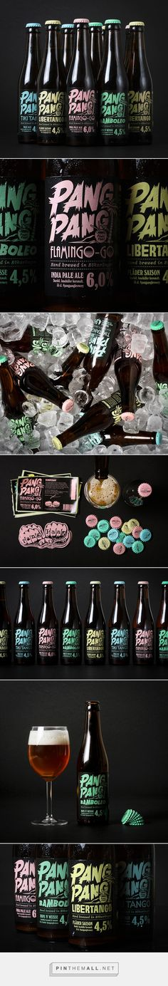 PangPang Brewery Branding and Packaging by Snask | Fivestar Branding Agency – Design and Branding Agency & Curated Inspiration Gallery