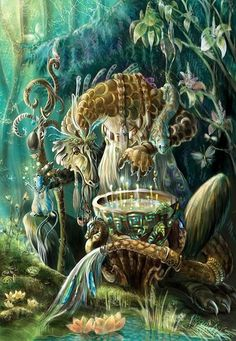 For millennia our ancestors have used herbs to create a vast array of magickal substances. Today, when the twilight curtains of secrecy are being drawn back so that all may share in the Old Ways of Magick, there is a growing need for a comprehensive, responsible guide to magickal formulas.  Forest magic by ~Grey-Seagull on deviantART