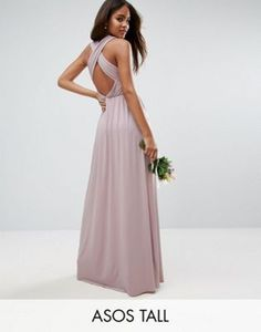 Buy Purple Asos tall Long dress for woman at best price. Compare Dresses  prices from online stores like Asos - Wossel Global ab86e1a33