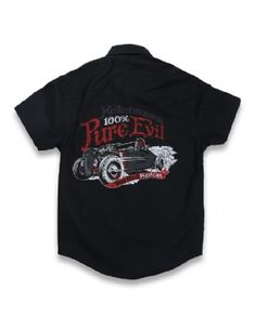 DEVIL ROD, Hotrod Hellcat Kids, Workshirts at Switchblade Clothing