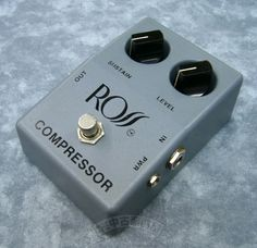 ROSS COMPRESSOR Guitar Rig, Guitar Pedals, Trey Anastasio, Pedalboard, Musical Instruments, Bass, Filter, Chips, Sewing