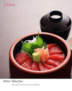 Tekka Don - sliced fresh tuna on sushi rice. For reservations, please call +603-7980 8228. #ishin #JapaneseFood #kaiseki #finedining #food #Shokuji