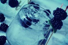 Brombeer-Salbei Gin Tonic