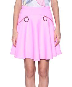 Kenzo Circle skirt with zip   Lindelepalais.com 35321