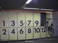Josta 2-tier lockers | Cycle-Works Limited | Bike Lockers | Bike Storage | Bike Sheds