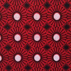 Wonderful retro design pattern of the famous shweshwe fabric brand 3 cats - huge assortment available at www.karlottapink.com  Also B2B conditions available!