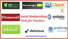 10 Excellent Social Bookmarking Tools for Teachers ~ Educational Technology and Mobile Learning