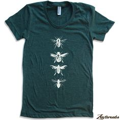 Hey, diesen tollen Etsy-Artikel fand ich bei https://www.etsy.com/de/listing/103260283/womens-bienen-american-apparel-t-shirt