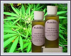 The softness of hemp oil combined with elder flower infused grape seed oil, high oleic sunflower oil and apricot oil.  A very luxurious yet affordable way to pamper your skin after a relaxing bath or shower. Only a few drops applied to your skin let you feel like you just walked through a rain forest.   A light-weight body oil, fast absorbent and without additional fragrances.   Use it as a marvelous massage oil.   Sold in 2 oz flip-top bottles.   Hemp seed oil is a great non-clogging oil…