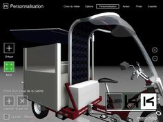 Kleuster Freegones urban electric powered utililty vehicles 3D product…