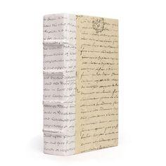 GO Home Single White Script Book