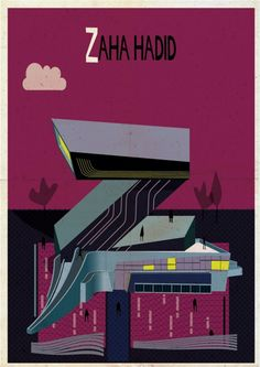 Archibet: An Illustrated Alphabet of Architecture -  Courtesy of Federico Babina