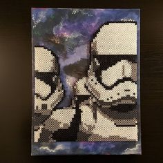 Stormtroopers - Star Wars perler beads by martyg84