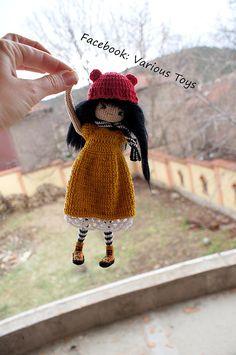 Crochet Gorjuss doll collection crochet dolls collectible