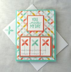 """Best Day Ever"" Stampin' Up!, www.beebugcreations.com"