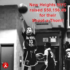 New Heights NYC raised over $50,000 for their Shoot-a-Thon!