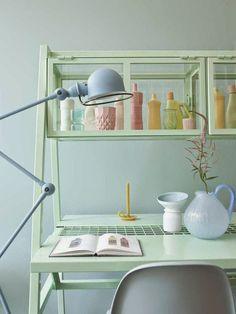 Casa - Decoração - Reciclados: Linhas Modernas e Cores Pasteis - Interiores Lindi...