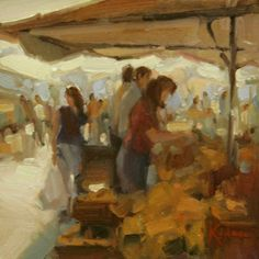 Sarah Kidman - At the Market