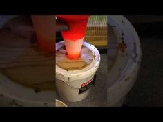 Cyklon støvadskiller test - DIY cyclone dust collector efficiency test (DK) - YouTube