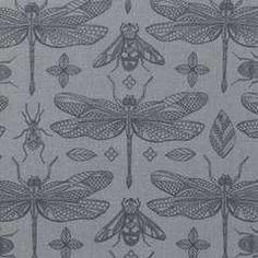 Tyg 140 cm Bugs & dragonflies