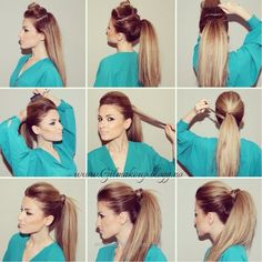 Marvelous How To Make The Perfect Party Ponytail  The post  How To Make The Perfect Party Ponytail…  appeared first on  Emme's Hairstyles .