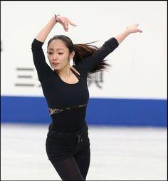Miki Ando(JAPAN) Japan Figure Skating Championships2013 Plactice