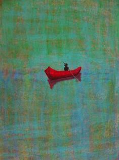 Peter doig Red Boat Rachel Cross Oil on Canvas Peter Doig, Oil On Canvas, Canvas Prints, Art Prints, Figure Painting, Painting & Drawing, Inspiration Artistique, Oil Pastel Paintings, Oil Pastels