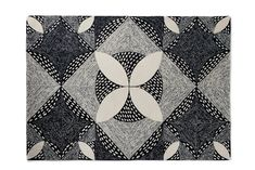 Bantam wool rug – Lindsey Lang Design Ltd Bantam Chickens, Terrazzo Tile, Feather Pattern, Interior Inspiration, Kitchen Inspiration, Custom Rugs, Different Textures, Rug Making, Home Textile