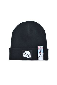Skull Beanie By Ben Prints, Click For More.