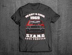 Ford Mustang Shirts, Mustang 1969 T shirts, Shelby shirts Cars t shirts, men tshirts, women t shirts, muscle car shirts, cars decal, Mustang by MotoMotiveInk on Etsy