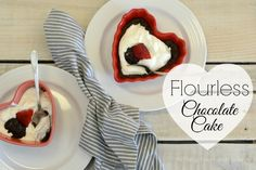 Mini Flourless Chocolate Cakes-Gluten Free Naturally - All Things Heart and Home