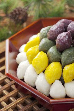 Korean Traditional Dessert ; Rice Cake