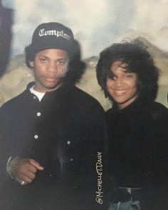 Eazy-E and Michel'le Dodgers, Hiphop, Old School Pictures, Rap City, Gangster Rap, Straight Outta Compton, Rapper Art, Hip Hop Art, Rapper