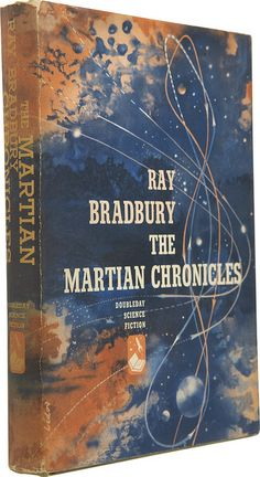 The Martian Chronicles (1950) by Book Covers: Vintage Paperbacks, Mars Sci-Fi, via Flickr