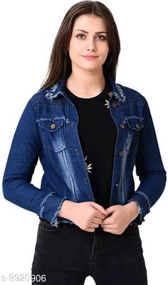 Blazers Denim Women's Jackets Denim Women's Jackets Country of Origin: India Sizes Available: XS, S, M, L, XL   Catalog Rating: ★4.2 (601)  Catalog Name: Attractive Denim Women'S Jackets Vol 2 CatalogID_552321 C79-SC1029 Code: 263-3920906-939