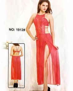 Summer Sexy Net Nighty 1912 - Long Net Open Nighty Dress - Nighty - diKHAWA  Online f896de7dc