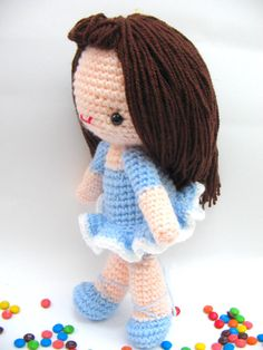 Amigurumi girl. #amigurumi, #girl, , #pattern, #crochet, #hanemade, #ballerina,