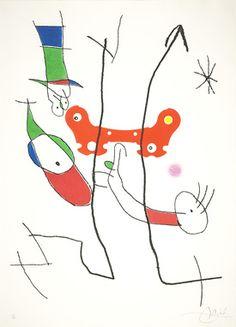 Miró Miró, Le plus beau cadeau, Lithographie