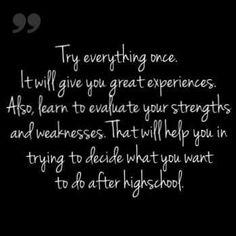 Teen advice