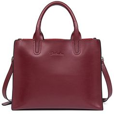 BOSTANTEN Ladies Leather Handbags Shoulder Tote Top Handle Satchel Purse Cross Body Bags