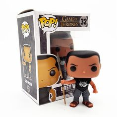 FUNKO POP Game of Thrones Grey Worm PVC 10CM Genuine Action Figure Doll Collection Model Toys T424 buy http://ali.pub/t5bqm #gameofthrones