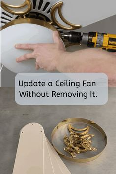 Taking Down A Ceiling Fan . Taking Down A Ceiling Fan . Ceiling before Removal Of All Damaged Paint Plaster and