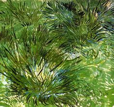 Clumps of Grass / Vincent van Gogh - 1889