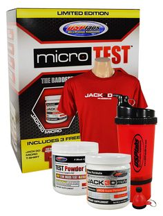 USP Labs Limited Edition Micro Test & Jack3d Micro Bonus Kit l Rock Bottom Fitness
