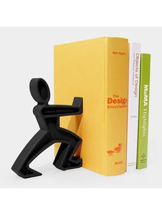 The product is a book holder shaped like a man pushing. I like the design because it is simple and it looks very good. I want to create a product that is pleasing to look at but simple to make, thus I could build upon this idea to make my product resemble a certain object and look good.