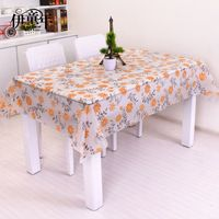 Home furnishing European garden style waterproof oil proof plastic disposable PVC tablecloth manteles para mesa nappe Toalha