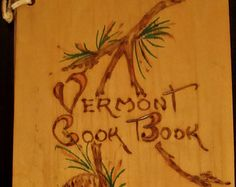 wood cover Vermont Cookbook